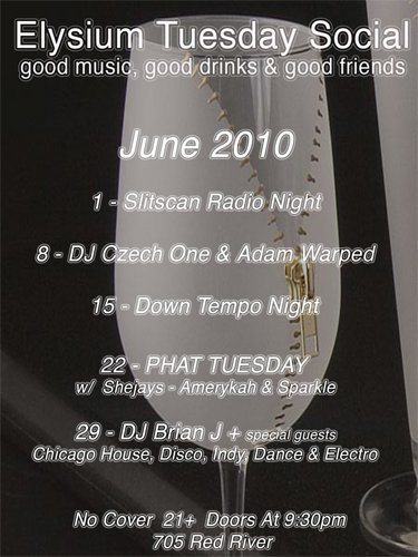 downtempo night at elysium in austin tx